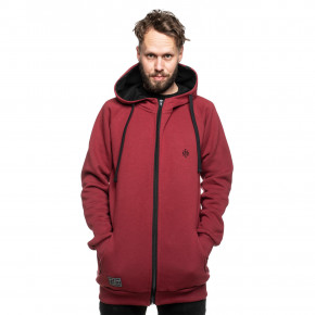 Přejít na produkt Mikina Cult Of The Road Cross Hoodie maroon 2019