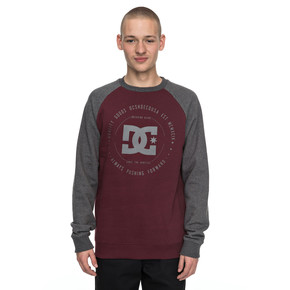 Go to the product Hoodie DC Rebuilt 2 Crew Raglan port royale 2017