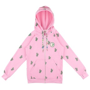 Go to the product Hoodie Femi Stories Cactus candy pink 2017