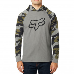 Przejść do produktu Bluza Fox Subzcribe Hooded Ls Knit grey camo 2019