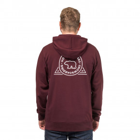 Go to the product Hoodie Horsefeathers Grizzly burgundy 2018/2019