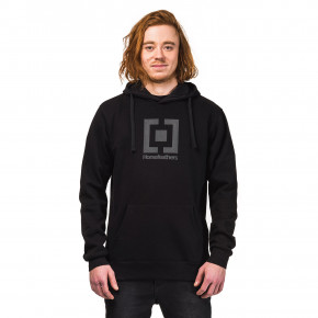 Go to the product Hoodie Horsefeathers Leader black reflective 2018