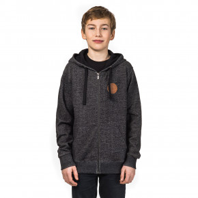 Go to the product Hoodie Horsefeathers Porter Kids black melange 2018