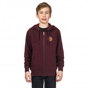 Go to the product Hoodie Horsefeathers Porter Kids burgundy 2018