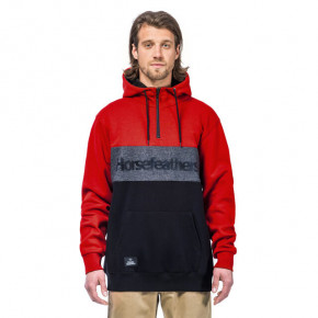 Go to the product Hoodie Horsefeathers Riggs red 2020/2021