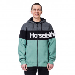 Go to the product Hoodie Horsefeathers Trevor granite green 2020