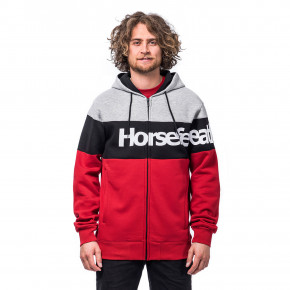 Go to the product Hoodie Horsefeathers Trevor lava red 2020