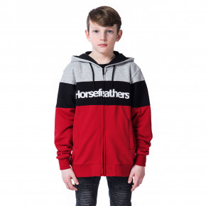 Go to the product Hoodie Horsefeathers Trevor Youth lava red 2020