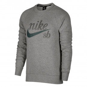 Przejść do produktu Bluza Nike SB Icon Crew dk grey heather/midnight green 2018