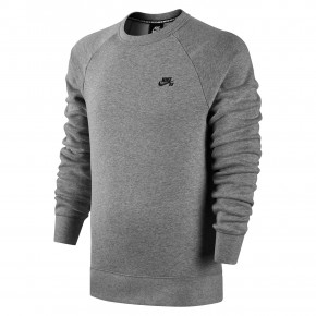 Przejść do produktu Bluza Nike SB Icon Crew Fleece dk grey heather/black 2018