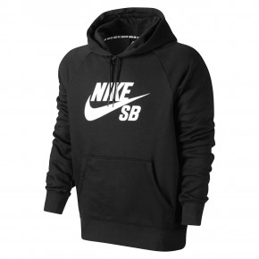 Go to the product Hoodie Nike SB Icon Hoodie black/white 2018