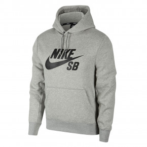 Przejść do produktu Bluza Nike SB Icon Hoodie dk grey heather/black 2019