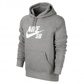 Przejść do produktu Bluza Nike SB Icon Hoodie dk grey heather/white 2018