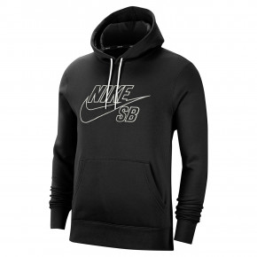 Przejść do produktu Bluza Nike SB PO Hoodie Embroidery black/summit white 2020