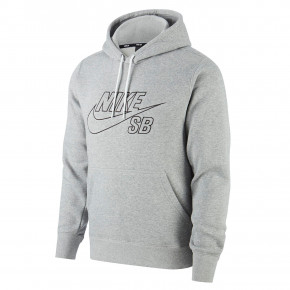 Przejść do produktu Bluza Nike SB PO Hoodie Embroidery dk grey heather/black 2020