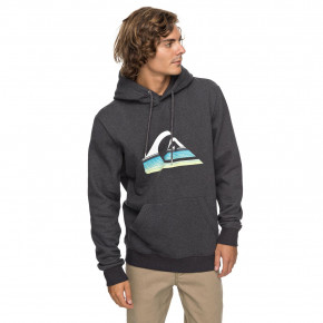 Go to the product Hoodie Quiksilver Big Logo Hood dark grey heather 2018