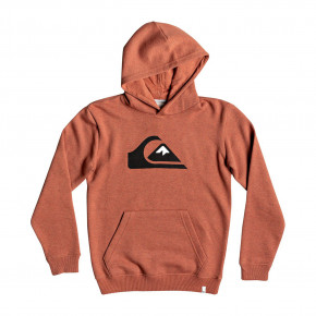 Go to the product Hoodie Quiksilver Big Logo Hood Youth barn red heather 2018