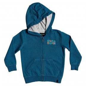 Go to the product Hoodie Quiksilver Bigger Picture Zip Boy majolica blue heather 2020