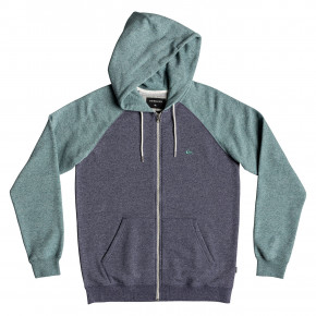 Go to the product Hoodie Quiksilver Everyday Zip medieval blue stormy sea heather 2019