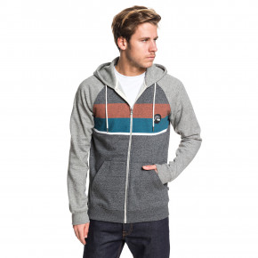 Přejít na produkt Mikina Quiksilver Everyday Zip Screen dark grey heather 2019