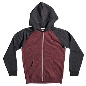 Prejsť na produkt Mikina Quiksilver Everyday Zip Youth pomegranate heather 2017