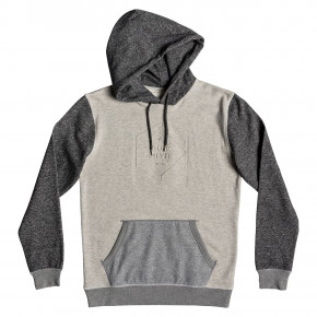 Prejsť na produkt Mikina Quiksilver Global Grasp Hood dark grey heather 2019