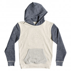 Go to the product Hoodie Quiksilver Global Grasp Hood Youth snow white heather 2019