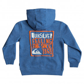 Go to the product Hoodie Quiksilver Jam It Zip Boy stellar heather 2019