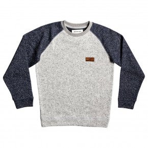 Prejsť na produkt Mikina Quiksilver Keller Block Crew Youth light grey heather 2019