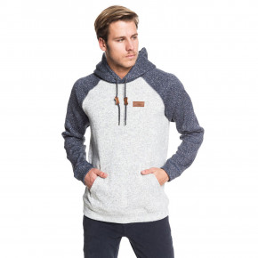 Go to the product Hoodie Quiksilver Keller Block Hood light grey heather 2019