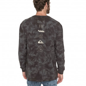 Go to the product Hoodie Quiksilver Knollout raven tie and dye 2018
