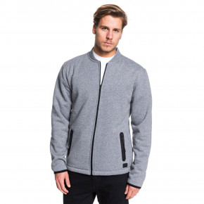 Go to the product Hoodie Quiksilver Kurow Sherpa Bomber light grey heather 2019