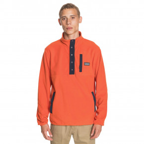 Go to the product Hoodie Quiksilver No Destination Half Snap burnt ochre 2020