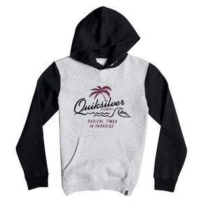 Přejít na produkt Mikina Quiksilver No Longer Hoody Youth light grey heather 2016