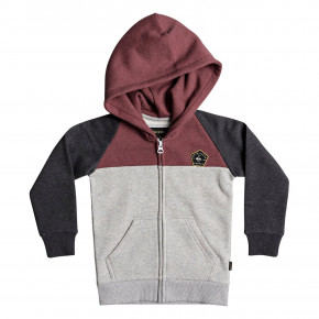 Go to the product Hoodie Quiksilver Sun Melt Zip Boy dark grey heather 2018