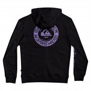 Go to the product Hoodie Quiksilver Time Circle Screen Fleece black 2020
