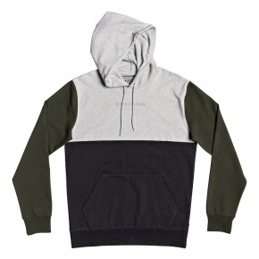 Prejsť na produkt Mikina Quiksilver Under Shelter Hood Update light grey heather 2020