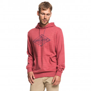 Przejść do produktu Bluza Quiksilver X Elite brick red screen hoodie stripe 2019