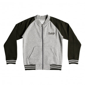 Přejít na produkt Mikina Quiksilver You Koso Bomber Youth light grey heather 2018