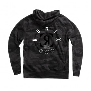 Go to the product Hoodies Ronix Orbital Hoodie black camo 2020