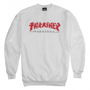 Go to the product Hoodie Thrasher Godzilla Crewneck white 2019