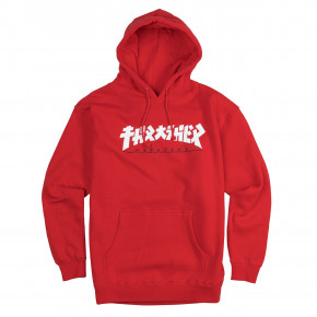 Go to the product Hoodie Thrasher Godzilla Hood red 2019