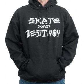 Go to the product Hoodie Thrasher Skate And Destroy Hood black 2020
