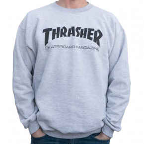 Go to the product Hoodie Thrasher Skate Mag Crew grey 2020