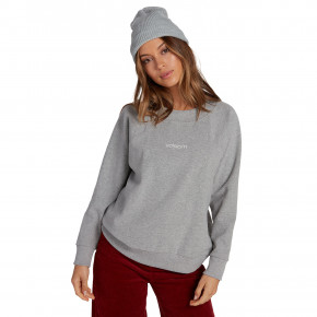 Go to the product Hoodie Volcom Eavy Sweater heather grey 2019