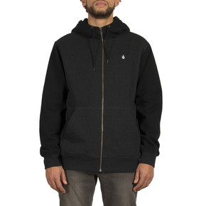 Go to the product Hoodie Volcom Sngl Stn Lined Zip asphalt black 2017