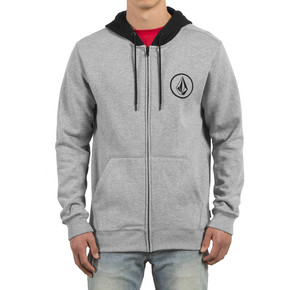 Go to the product Hoodie Volcom Stone Zip grey 2017