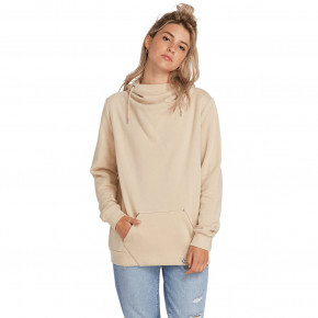 Go to the product Hoodie Volcom Walk On By High Neck oxford tan 2019