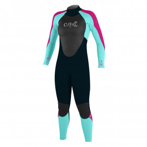 Go to the product Wetsuit O'Neill Girls Epic Bz 4/3 slate/seaglass/berry 2018