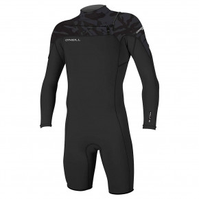Go to the product Wetsuit O'Neill Hammer Cz 2Mm L/s Spring black/black/jet camo 2019